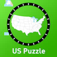 US States Capitals Puzzle Match Classroom Focused Software - Us states map with capitals